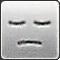 表情:瞑目