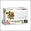 3DS ニンテンドー3DS LL モンスターハンター4 仕様 アイルーホワイト(ソフト同梱)