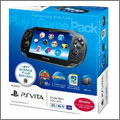 PSVita プレイステーション Vita 3G/Wi-Fiモデル Play!Game Pack