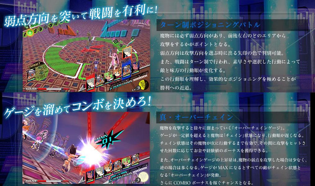 PSVita/3DS コンセプションII 七星の導きとマズルの悪夢