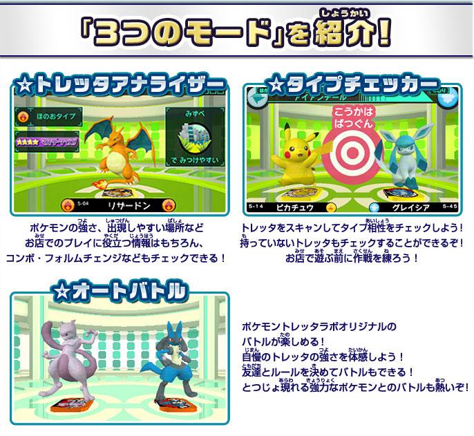 3DS ポケモントレッタラボ for ニンテンドー3DS
