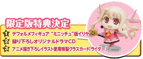 3DS Fate/Kaleid linerプリズマ☆イリヤ 通常版 & 限定版