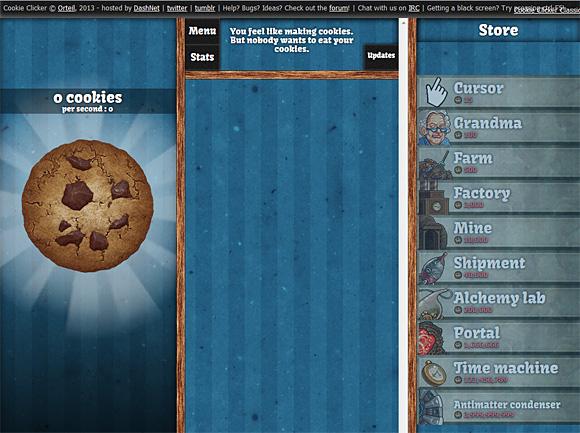 ブラウザゲーム クッキークリッカー