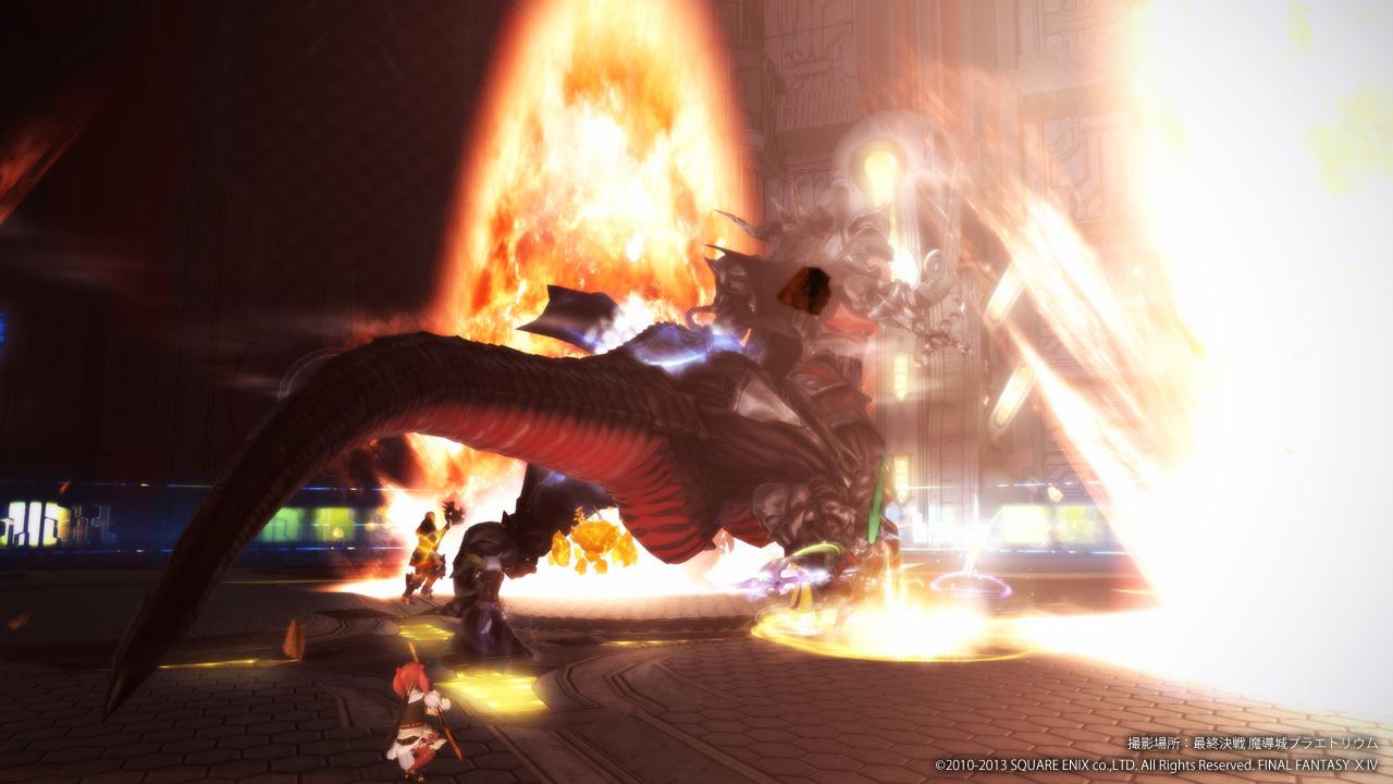 FF14 最終決戦 魔導城プラエトリウム