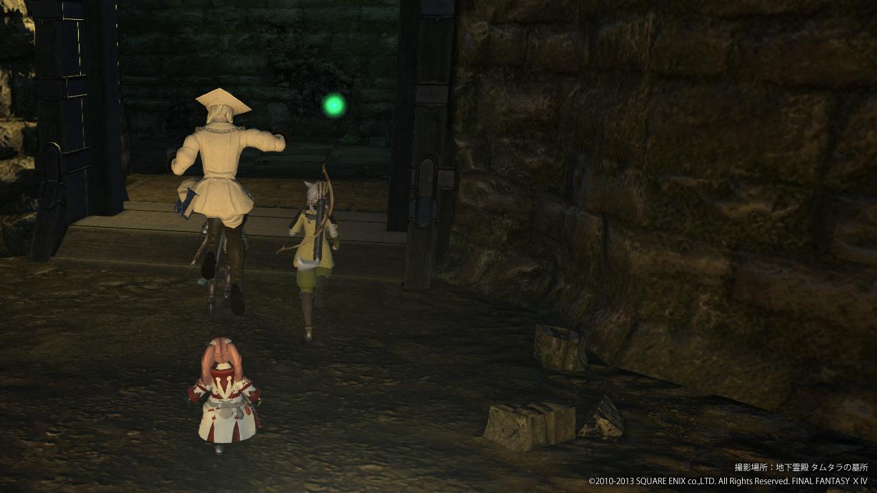 FF14 地下霊殿 タムタラの墓所