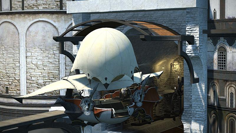 FF14 飛空艇や船なんか移動カットシーンのスキップ方法~♪