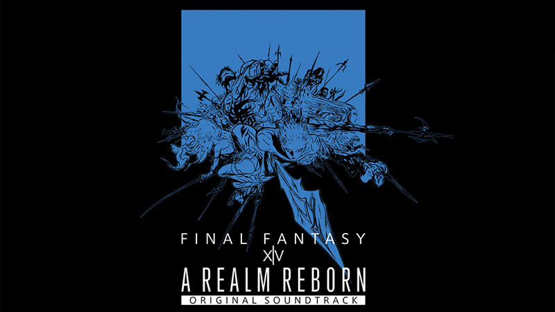 FF4 A REALM REBORN:FINAL FANTASY XIV Original Soundtrack【映像付サントラ/Blu-ray Disc Music】