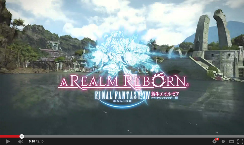 FINAL FANTASY XIV PlayStation®4 トレーラー