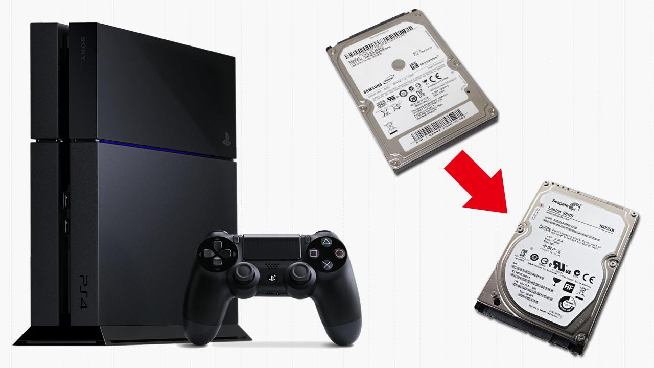 PS4のSSHD(SSD)への交換のやり方~♪(前準備編)