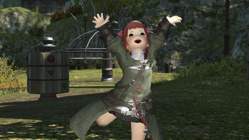 FF14 パッチ2.2で追加された新エモ「踊り」習得場所♪